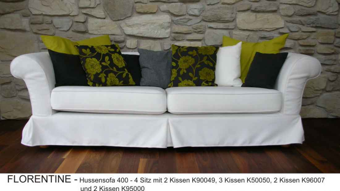 hussen couch florentine the lounge company. Black Bedroom Furniture Sets. Home Design Ideas