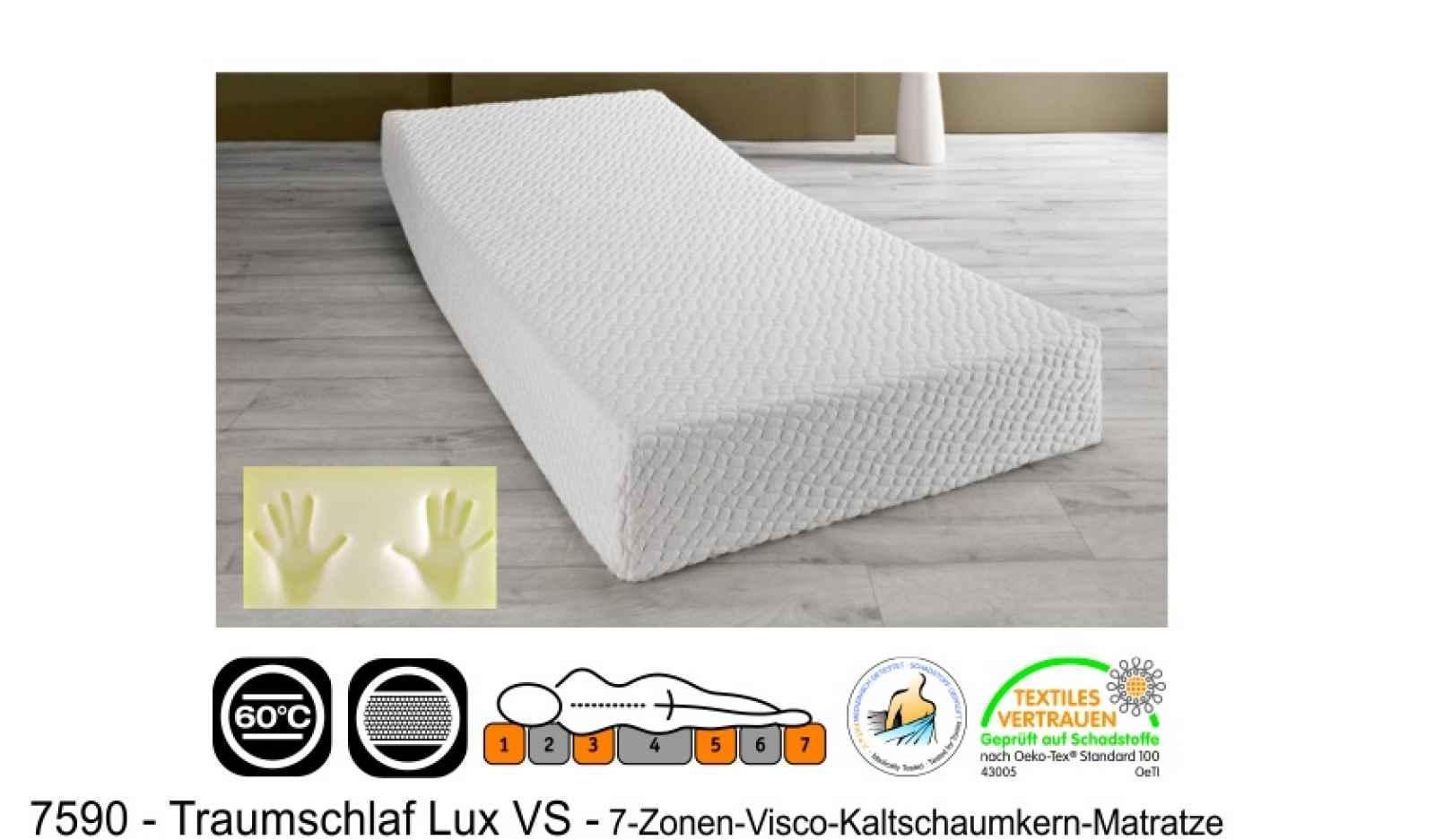 Matratze 7590 Traumschlaf Lux VS